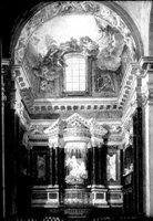 Интерьер церкви Санта Мария делла Витториа в XVIII в., Рим