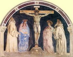Распятие (А. дель Кастаньо, 1455 г.)