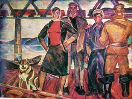 Плотогоны (Н. Андронов, 1958-1961 г.)