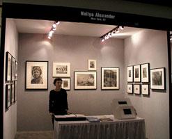 Стенд галереи Nailya Alexander (Художественный рынок, Нью-Йорк)