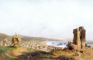 Феодосия (К. Боссоли, 1856 г.)