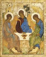 Святая Троица (Андрей Рублев)