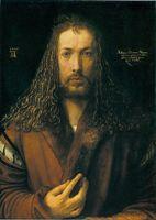 А. Дюрер. Автопортрет. 1500. Старая пинакотека