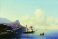 Гурзуф (И.К. Айвазовский, 1859 г.)