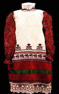 Народная вышивка Калужского края