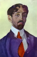 Портрет М. Кузмина (К. Сомов)