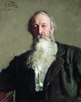 Портрет В.В. Стасова (И.Е. Репин, 1883 г.)