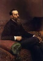 Портрет Н. Римского-Корсакова (И.Е. Репин)