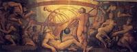Оскопление Урана Кроном (Джорджо Вазари и Жерарди Христофано, XVI век)