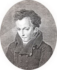 В.А. Жуковский (А.А. Фролов, гравюра)