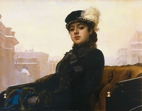 Неизвестная (И.Н. Крамской, 1883 г.)