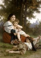 Отдых (В. Бугро, 1879 г.)