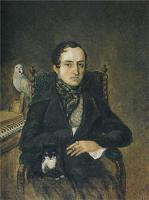 Портрет В.Ф.Одоевского работы А.Покровского. 1844 г.