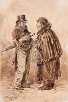 Московские типы (В. Маковский, 1879 г.)