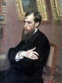 П.М. Третьяков (И.Е. Репин)