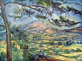 Гора св. Виктории (П. Сезанн, 1885-1887 г.)