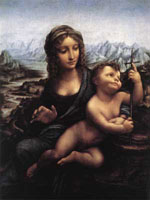 Мадонна с веретеном