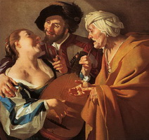 Сводница (Дирк ван Бабюрен, 1622 г.)