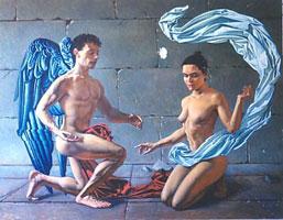 Амур и Психея (В.Д. Келли)