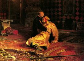 Иван Грозный и его сын Иван 16 ноября 1581 года (И.Е. Репин)
