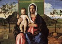 Беллини Мадонна и младенец с благословлением