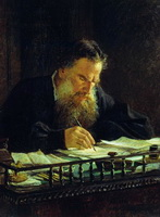 Портрет Л.Н. Толстого (Н.Н. Ге)
