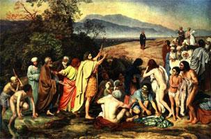 Явление Христа народу (А. Иванов, после промывки)