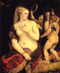 Венера перед зеркалом (Тициан)