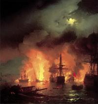 Чесменский бой в ночь с 25 на 26 июня 1770 года (1848 г.)