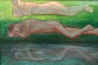 Нарцисс и Нимфа (Владимир Паршиков)