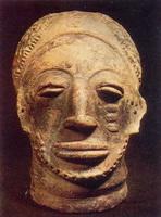 Голова (терракота, Гана)