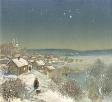 Морозная ночь (В.М. Сыров)