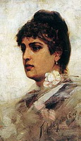 Голова итальянки (1880-е г.)