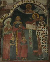 Ктитор Радивой с семьёй