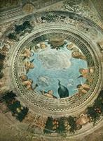 Роспись потолка замка Сан-Джорджо