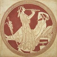 Одиссей и Каллипсо (Е. Киселева)