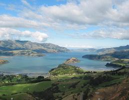 Типичный пейзаж Новой Зеландии