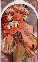 Цветы (рекламный плакат, 1897 г.)