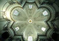 Купол церкви Сант Иво Алла Сапиенца. Франческо Борромини