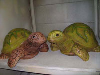 Черепашки (садово-парковая керамика из шамота)
