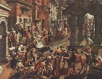 Работа живописцев Северного Возрождения