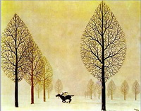 Последний жокей (Рене Магрит, 1948 г.)