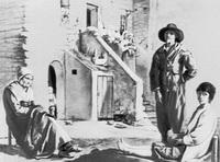 Крестьяне перед домом (Л. Леннен, 1940-е г.)