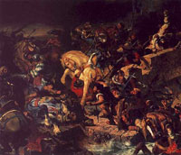 Битва при Таллебурге (Эжен Делакруа)