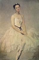 Портрет балерины А.Я. Шелест