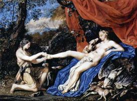Диана, отдыхающая после охоты. (Й. Вернер, 1663 г.)