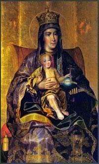 Богоматерь с младенцем (К. Золотарёв)