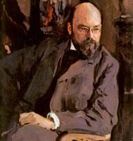 Портрет И.С. Остроухова (Валентин Александрович Серов)