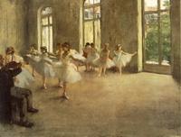 Репетиция балета (Э. Дега)