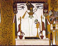 Осирис (фреска)